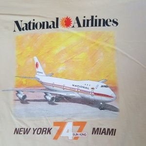 National Airlines Graphic Tee